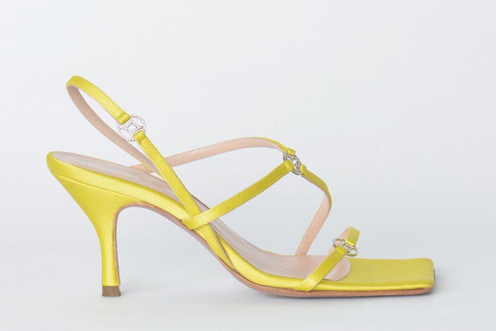 andrea wazen, andrea wazen spring 2021, spring 2021, pfw, paris fashion week, andrea wazen gem sandal