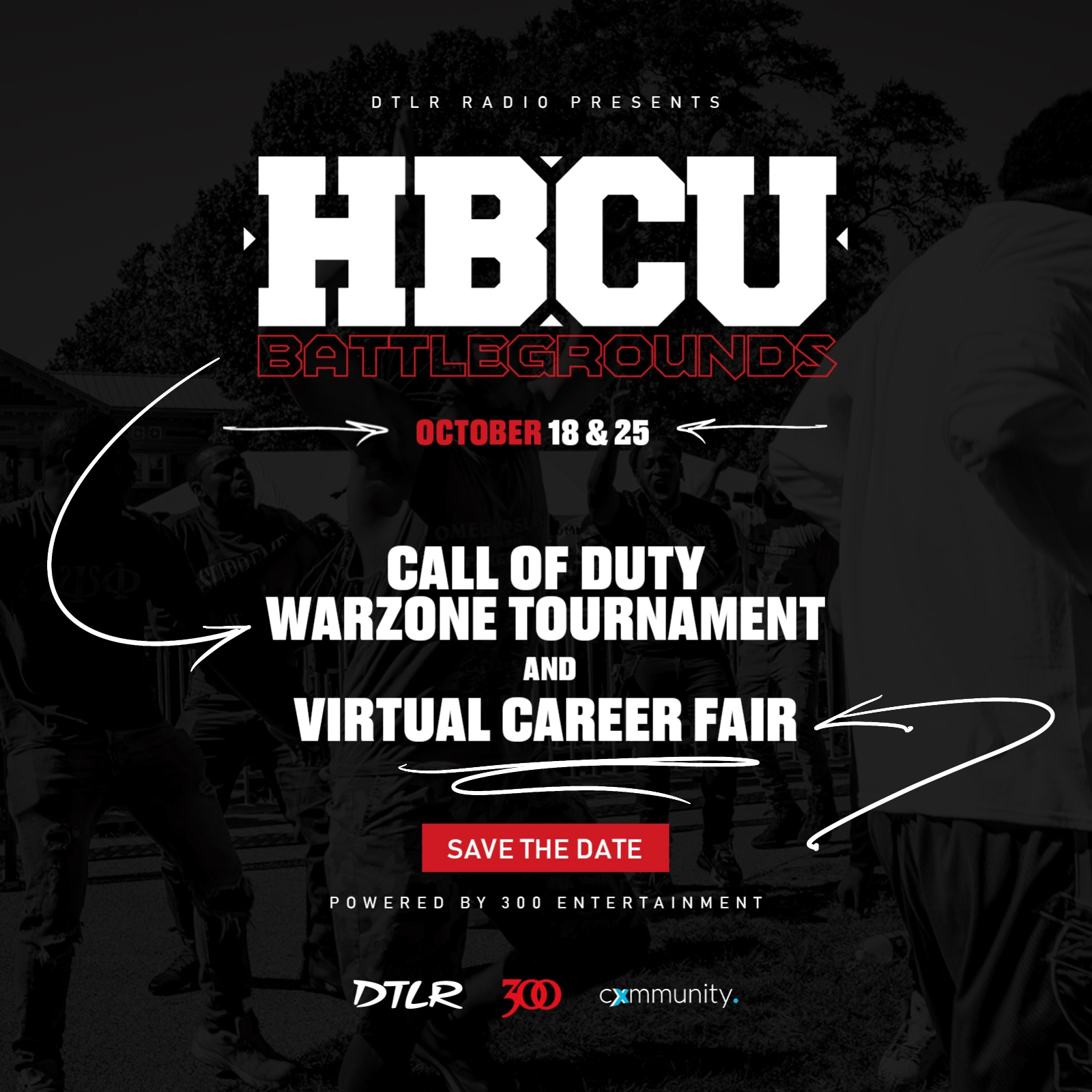DTLR HBCU esports career fair