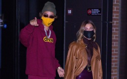 Justin and Hailey Bieber step out