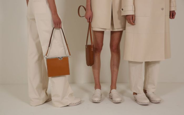 Hermes, hermes spring 2021, spring 2021, pfw, paris fashion week, hermes shoes, hermes bags