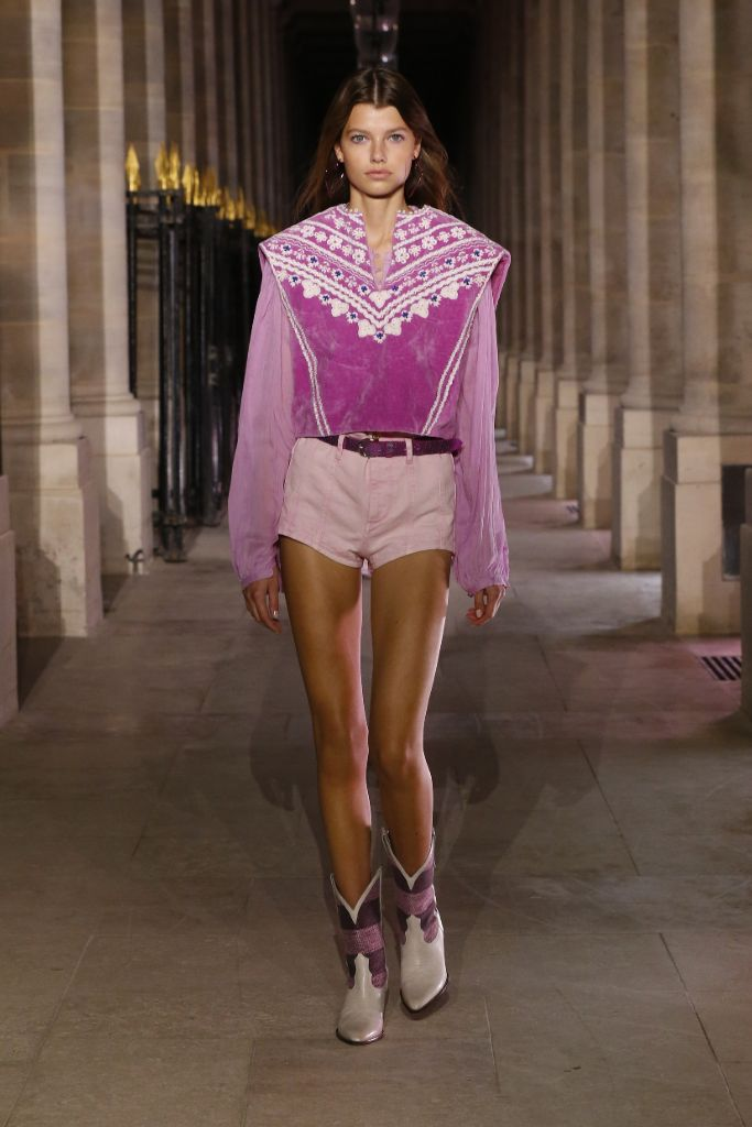 isabel marant, isabel marant spring 2021, spring 2021, pfw, paris fashion week