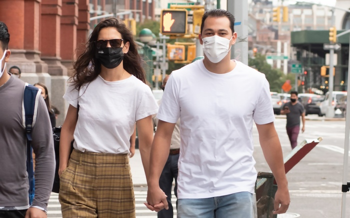 Katie Holmes And Emilio Vitolo Jr. Spotted Holding Hands In NYC