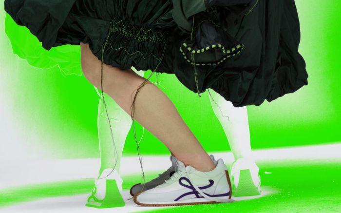loewe, loewe spring 2021, spring 2021, pfw, paris fashion week, loewe jonathan anderson, jonathan anderson, loewe shoes, loewe bag