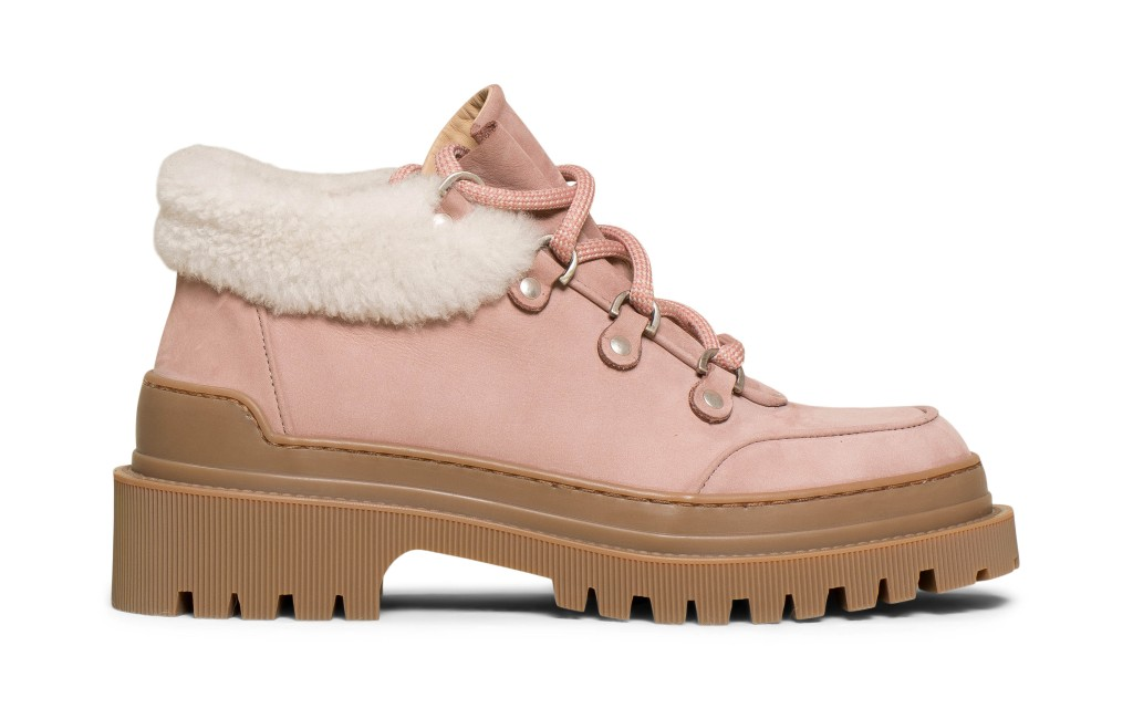 m gemi alpi due pink boots, breast cancer awareness month shoes