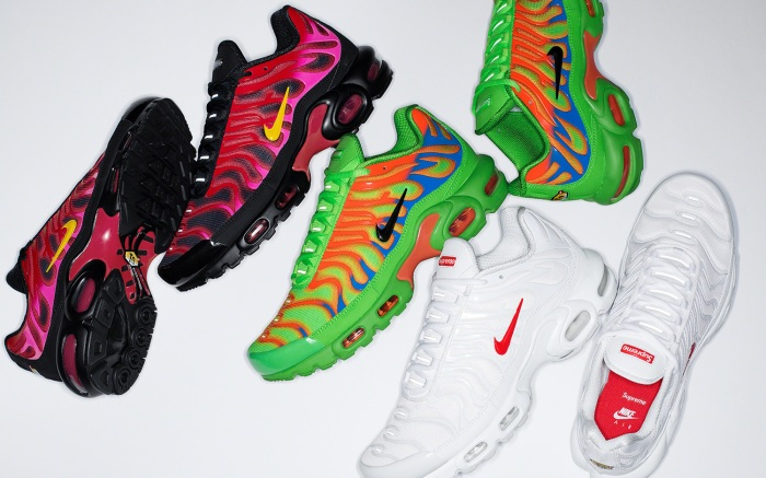 Supreme x Nike Air Max Plus Collaboration