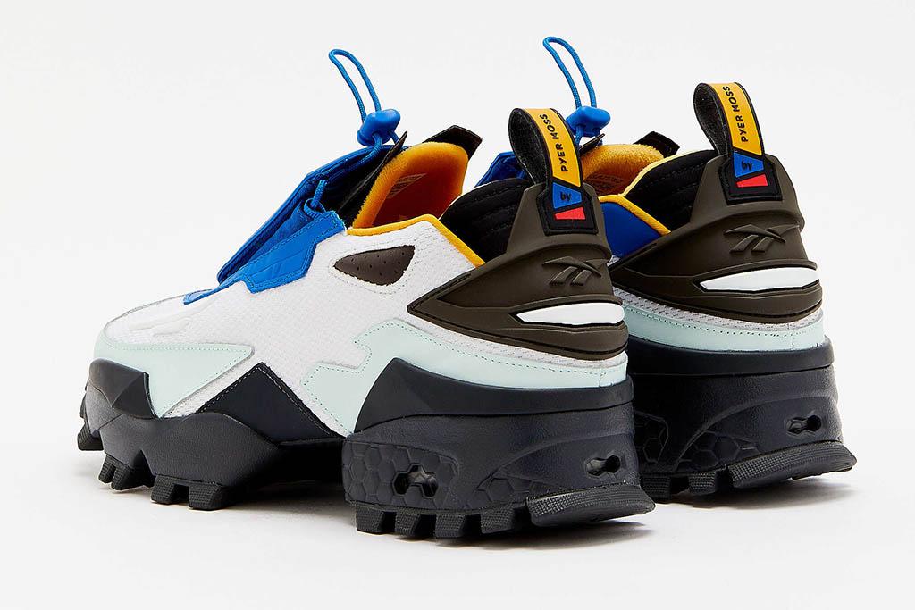 Reebok by Pyer Moss Experiment 4 Fury Trail Fresco Sneakers