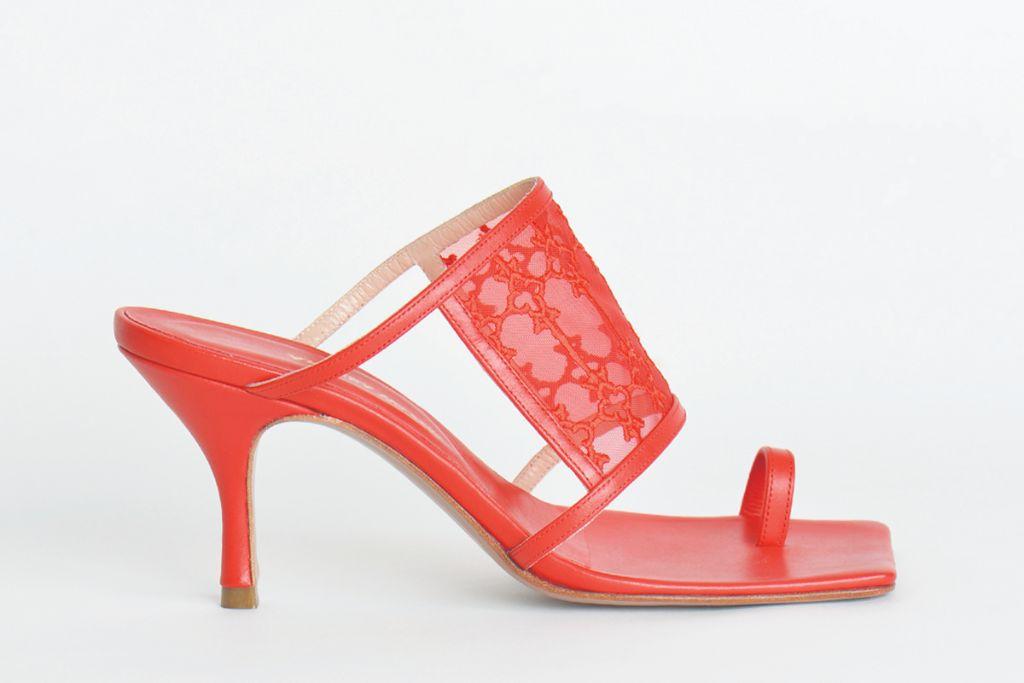 andrea wazen, andrea wazen spring 2021, spring 2021, pfw, paris fashion week, andrea wazen shoes, shoes, beirut fashion