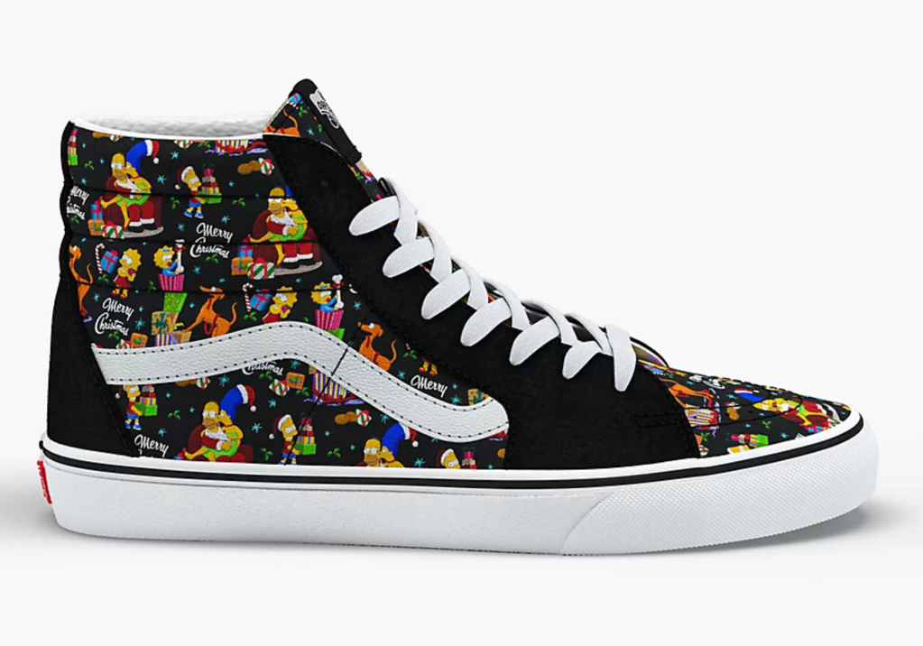 The Simpsons x Vans Sk8-Hi 'Holiday'