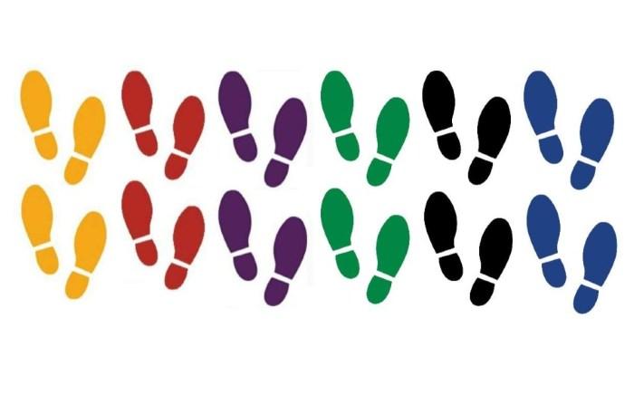 securepro footprint decals