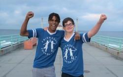 Skechers-Pier-to-Pier-Friendship-Walk_Friendship-Foundation-Marcus-and-Owen
