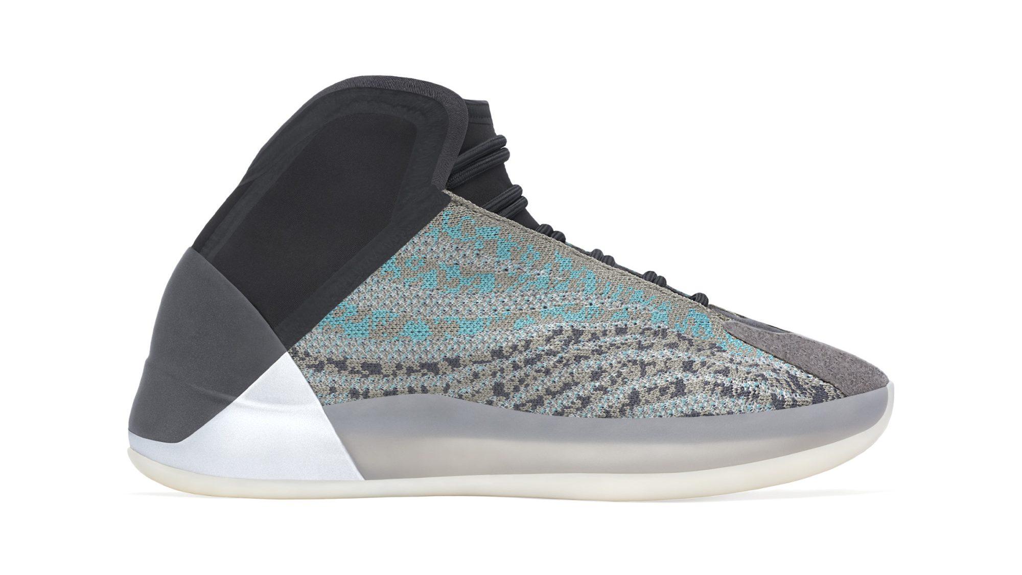 Adidas Yeezy Qntm 'Teal Blue' Release
