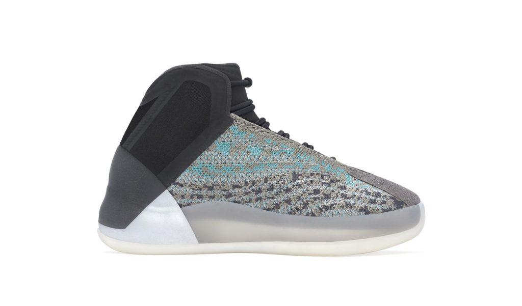 Adidas Yeezy QNTM 'Teal Blue' Kids