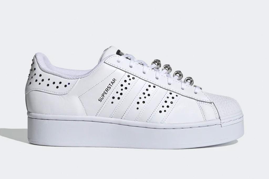 adidas, sneakers, crystal, rhinestone