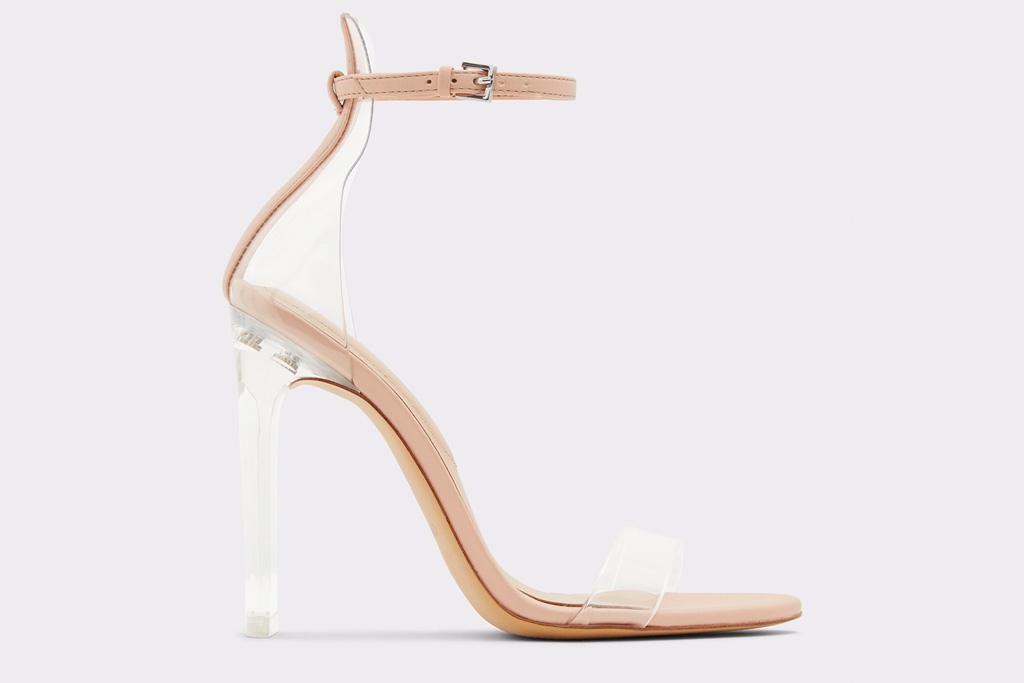 aldo, pvc, heels
