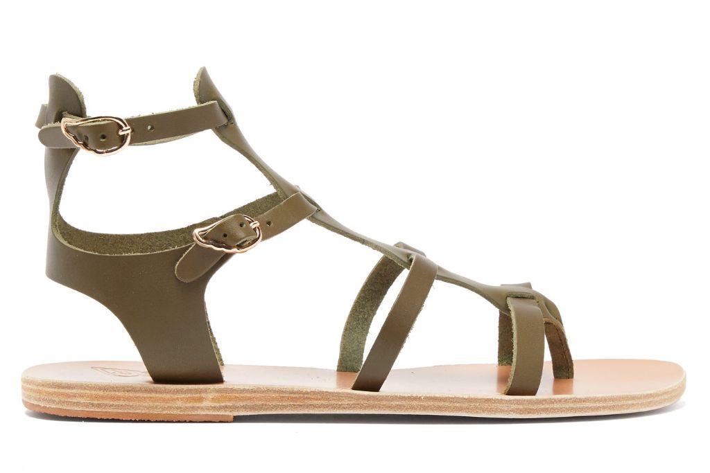 ancient greek sandals, gladiator sandals, spring 2021, spring 2021 trends,