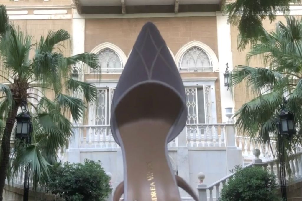 andrea wazen, andrea wazen spring 2021, spring 2021, pfw, paris fashion week, andrea wazen shoes, beirut fashion, lebanese designers