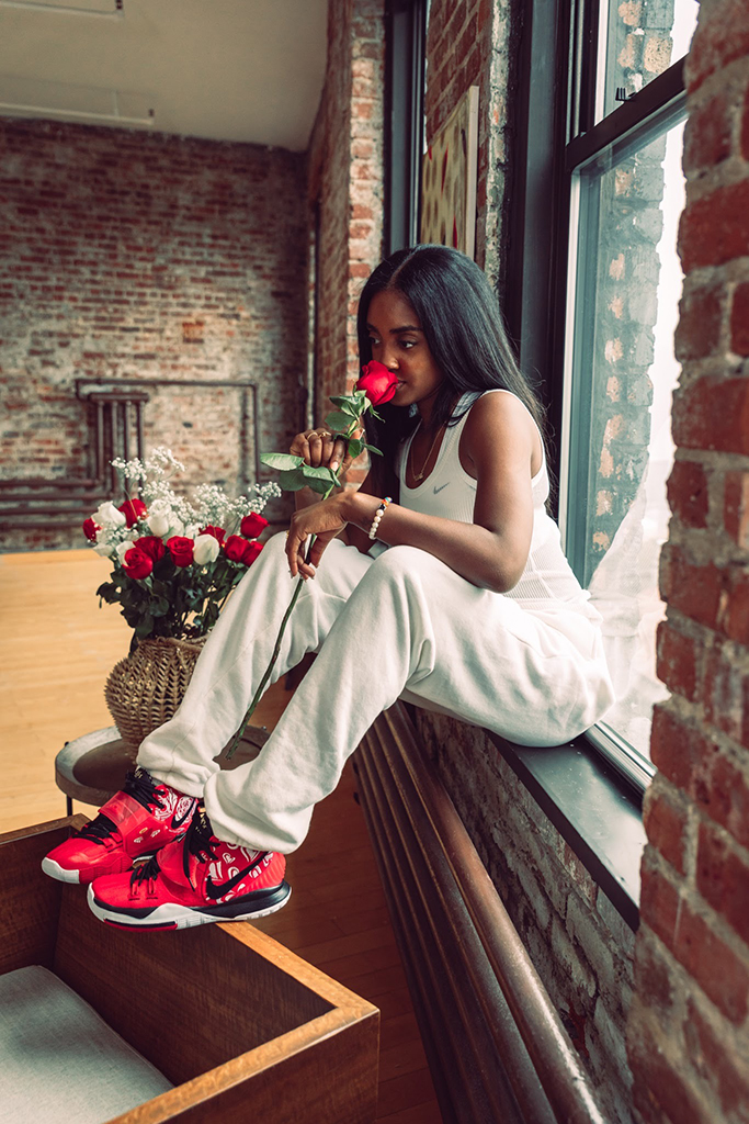 Asia Irving Sneaker Room x Nike Kyrie 6 Mom