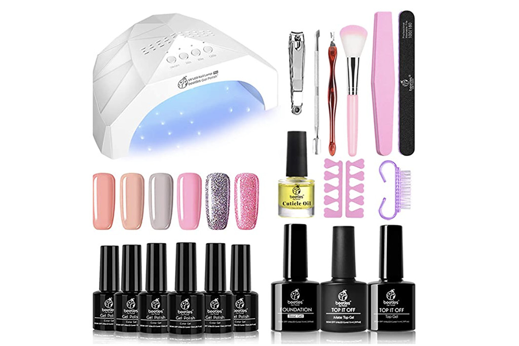 best gel nail polish kits, gel nail polish kits, diy gel nail polish