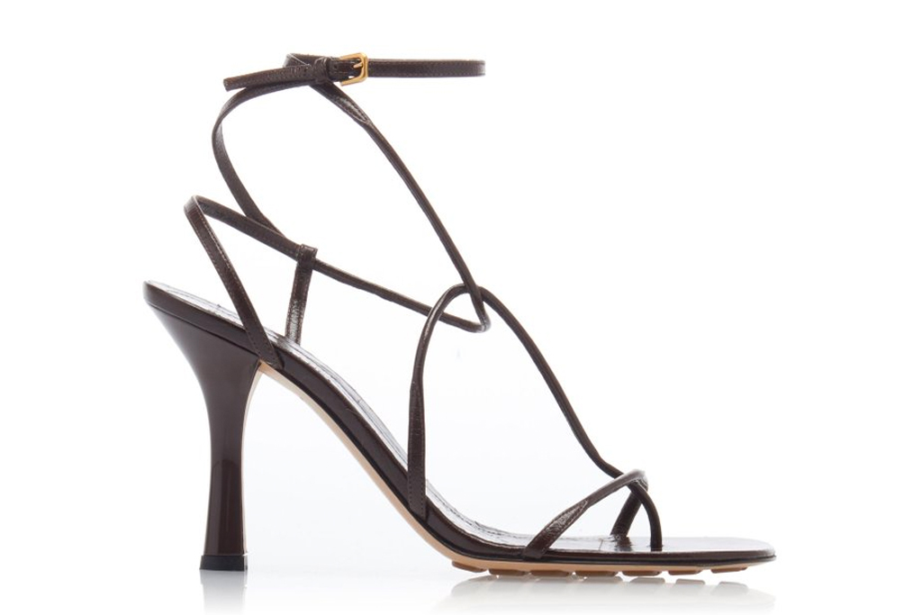 Bottega Veneta BV Line sandals, heels, brown