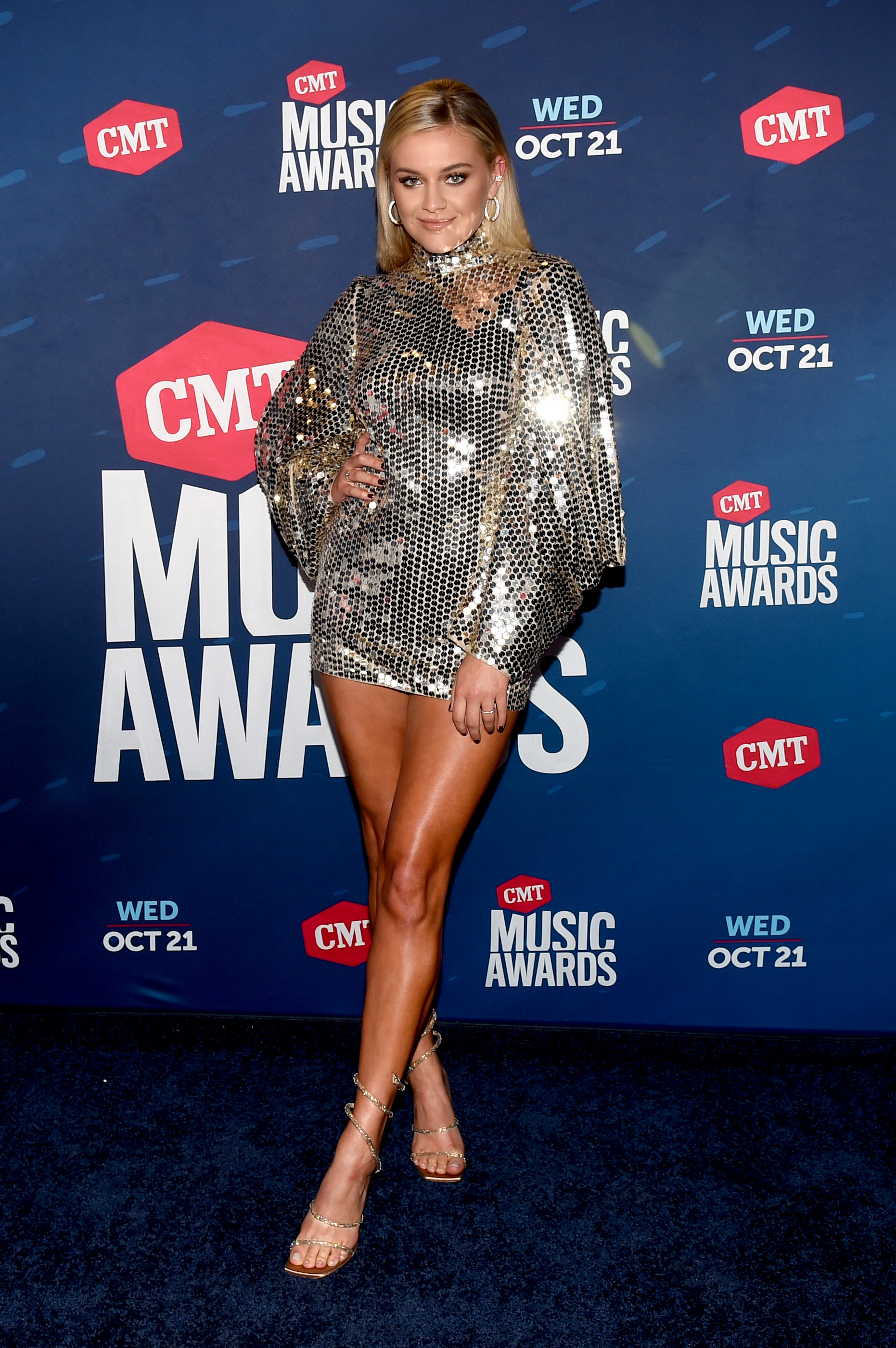 UNSPECIFIED - OCTOBER 21: In this image released on October 21, Kelsea Ballerini attends the 2020 CMT Awards broadcast on Wednesday October 21, 2020. (Photo by Kevin Winter/CMT2020/Getty Images for CMT)