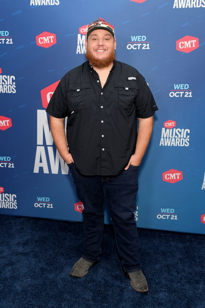 NASHVILLE, TENNESSEE - OCTOBER 21: In this image released on October 21, Luke Combs attends the 2020 CMT Awards broadcast on Wednesday October 21, 2020 in Nashville, Tennessee. (Photo by Jason Kempin/CMT2020/Getty Images for CMT)