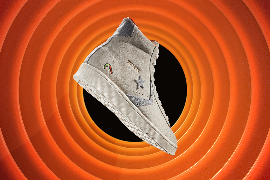 Bugs Bunny Converse Pro Leather