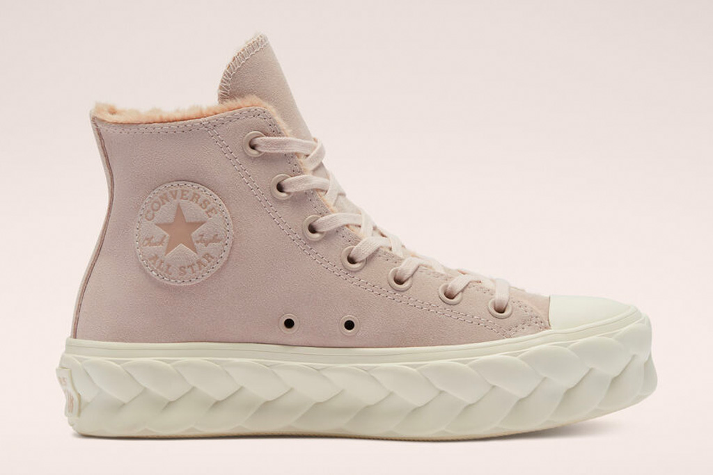 champú Abrazadera Auto  Converse Cozy Club Sneakers Bring Comfy-Chic Style for Winter – Footwear  News