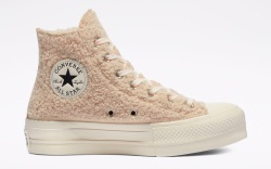 converse, cozy club, sneakers, fuzzy, shearling,