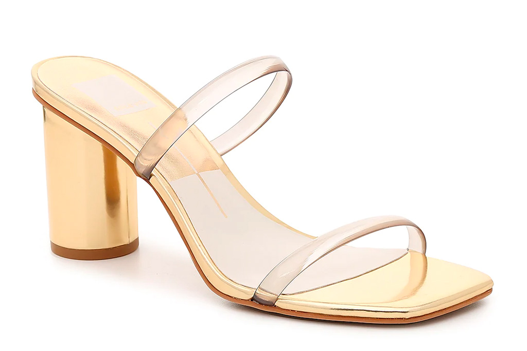 gold heels, sandals, strappy, shoes, dolce vita