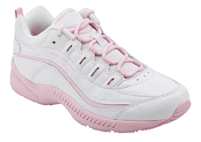 easy spirit romy sneaker, pink, breast cancer awareness month
