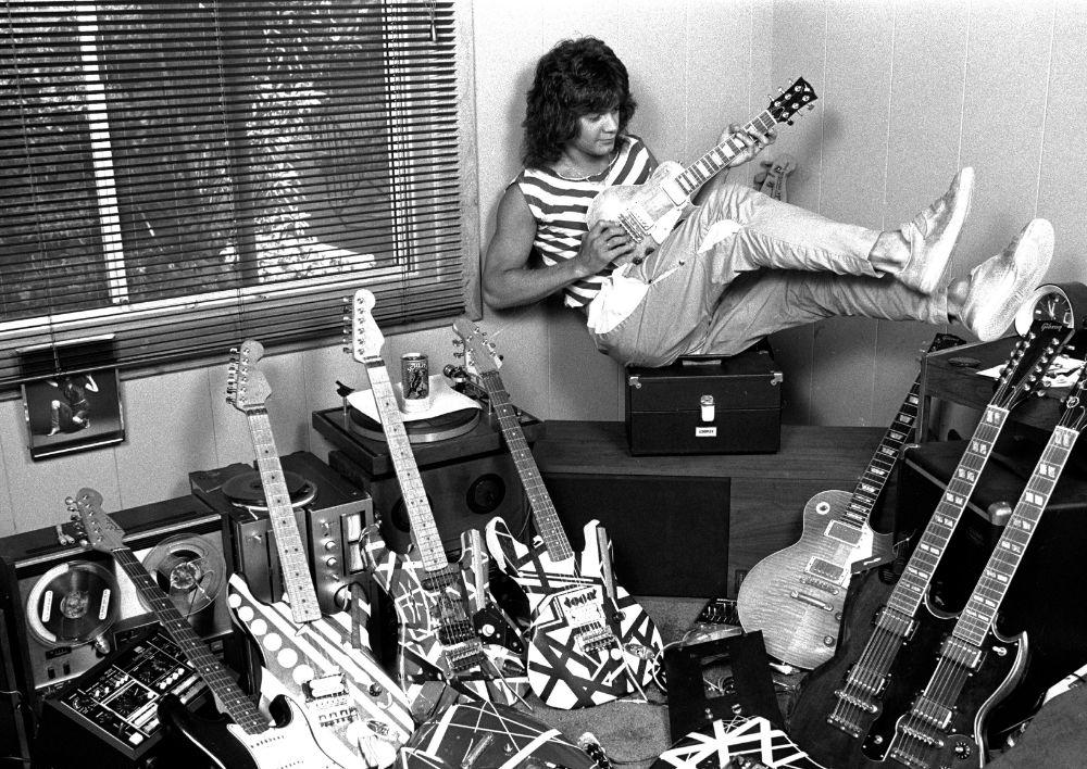 eddie van halen, van halen, edward, shoes, style, guitar, band, music, song, lyrics, cancer