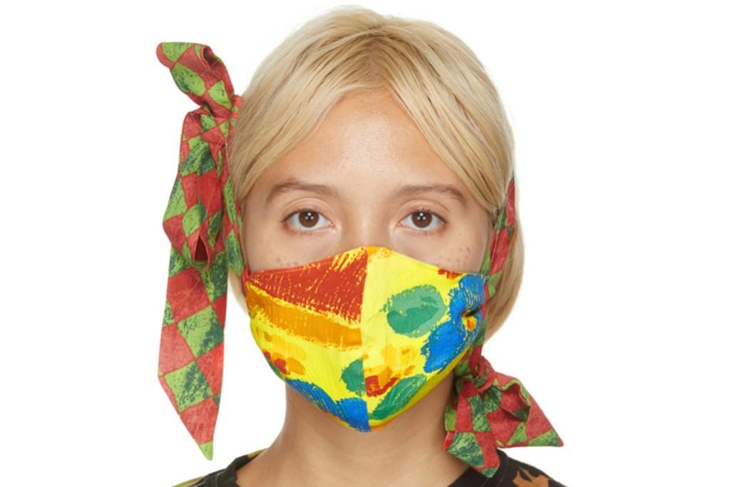 fancy face masks, collina strada face masks, designer face mask