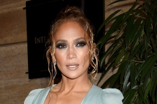 J-Lo Makes a Case for Low-Rise Pants in a Cropped Hoodie & Trending Combat Boots