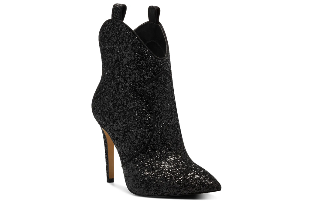 black boots, heels, stiletto, cowboy, western, jessica simpson