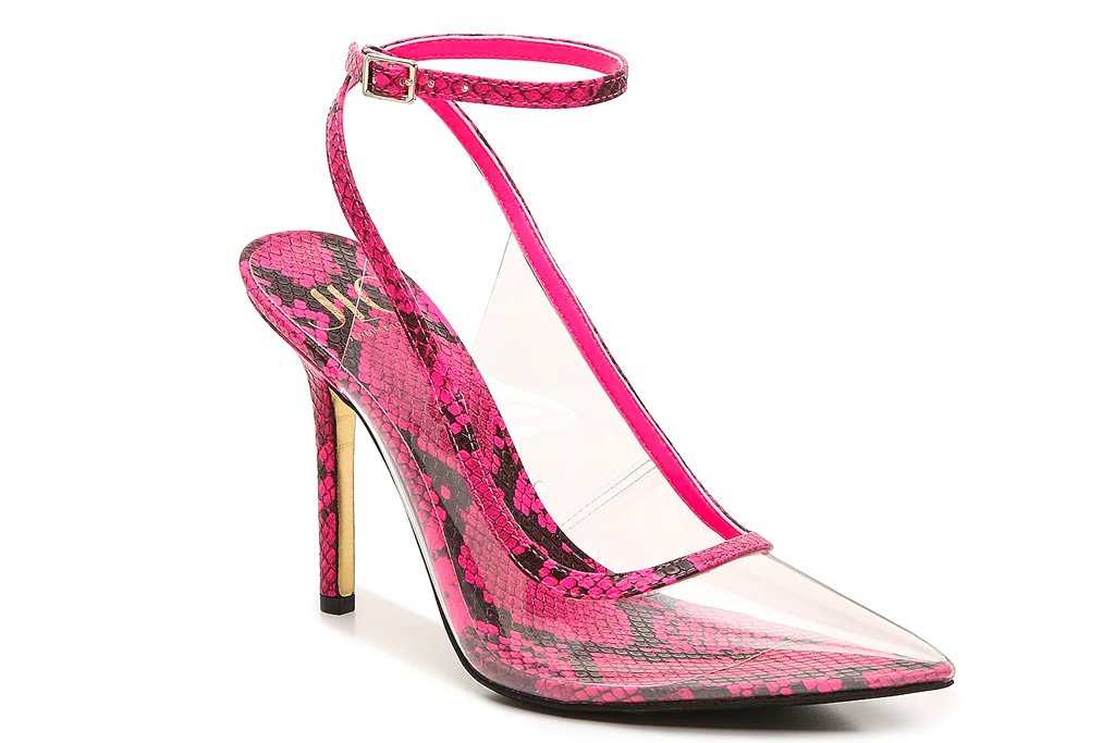 jennifer lopez, jlo, heels, pink, dsw