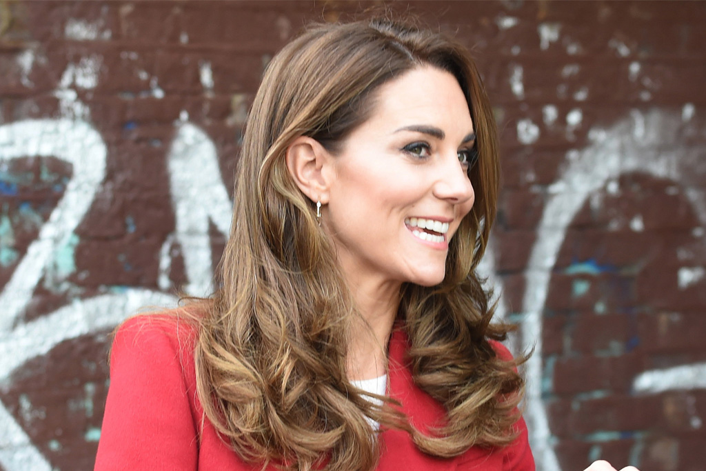 Kate Middleton Elevates Her Fall Style in a Statement Red Coat & Easy-to-Wear Heels
