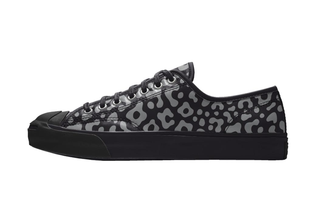 jack purcell converse, leopard print converse, leather converse