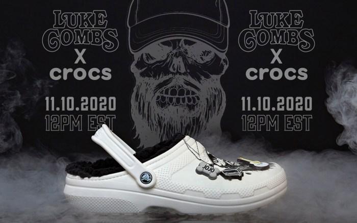 luke combs, crocs