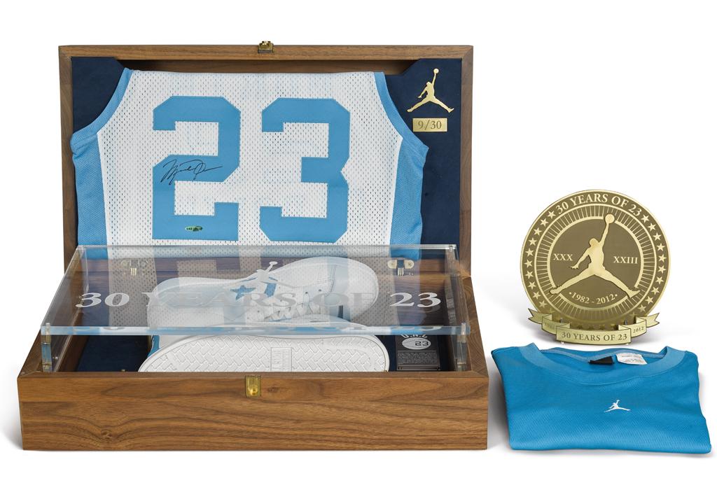 2012 Michael Jordan x Converse Commemorative Pack, sothebys, auction, unc