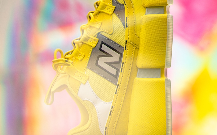 NB for Jaden Smith Vision Racer Sunflower Yellow
