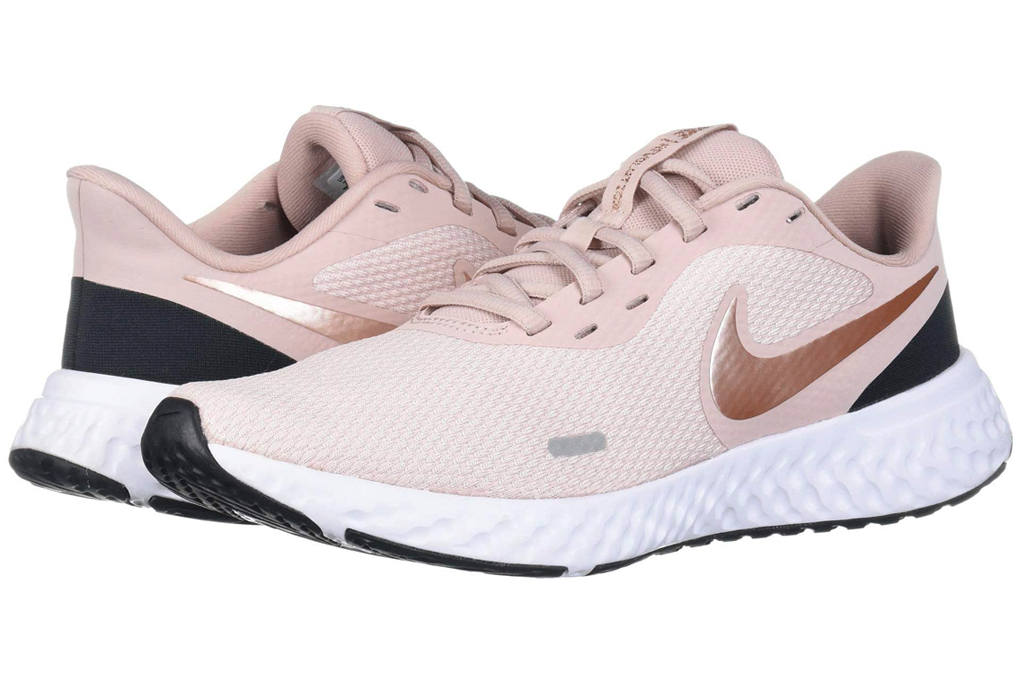 sneakers, womens, pink, blush, running shoes, nike