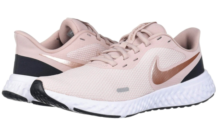 sneakers, womens, pink, blush, running shoes, nike