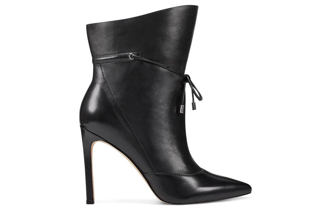 black boots, heels, stiletto, cowboy, western, nine west