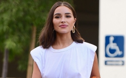 olivia-culpo-macys-leather-shorts-square-toe-sandals