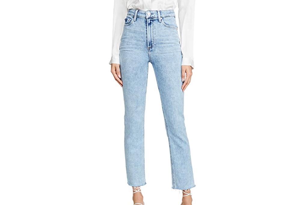 jeans, paige, straight leg