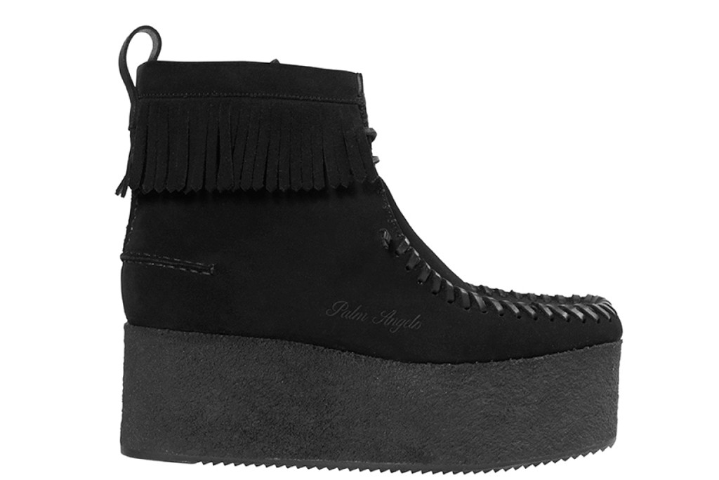 palm angels x clarks, wallabee boot, palm angels