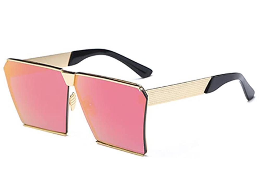 pink sunglasses, amazon sunglasses, pink tinted glasses