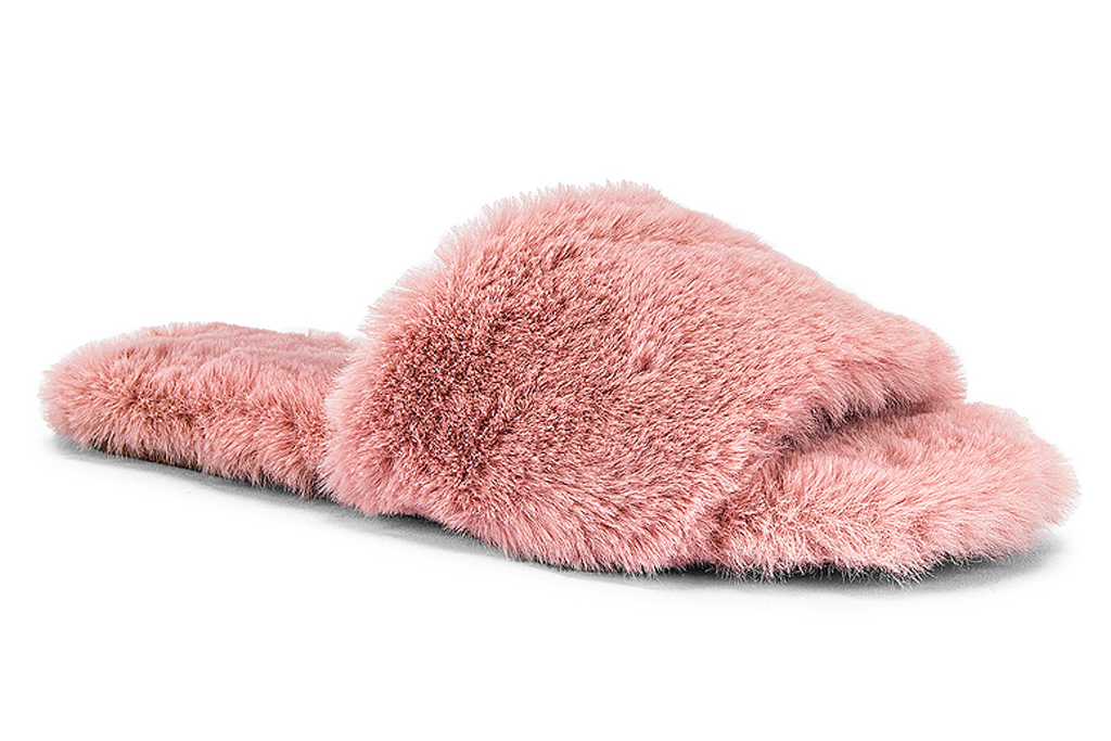 pink, slides, furry, raye