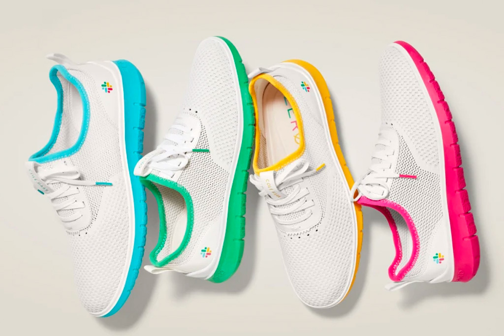 cole haan, slack, sneakers, colorful, white