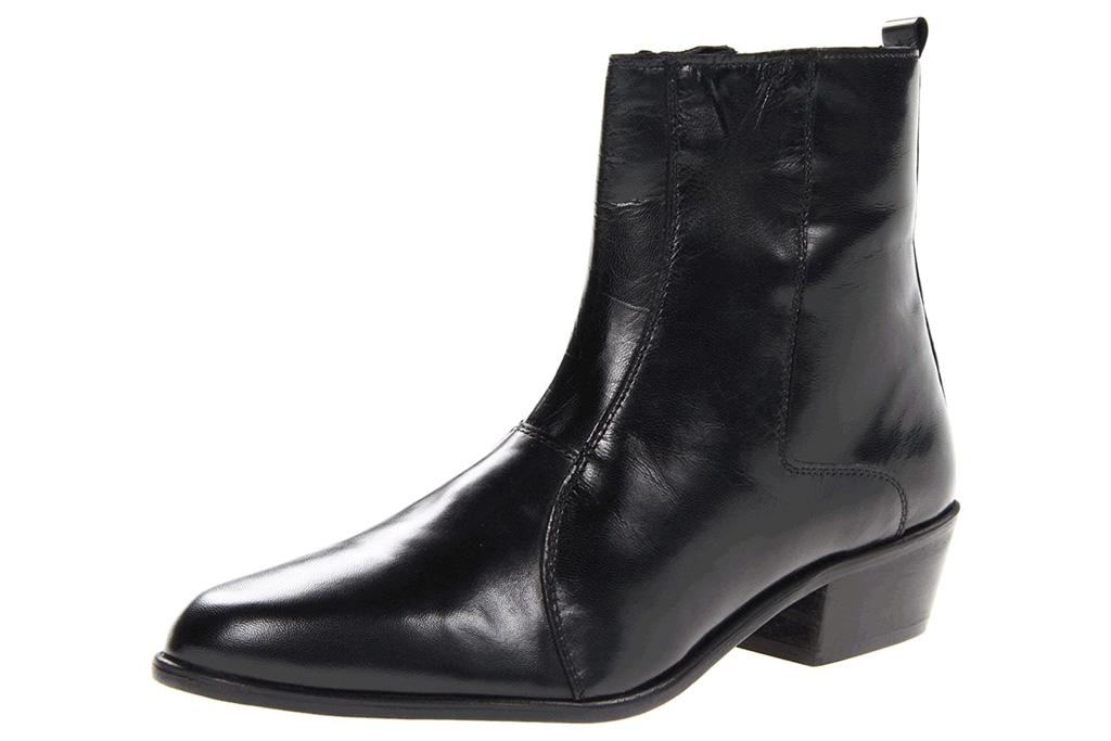 black boots, heel, heeled, mens, shoes, stacy adams